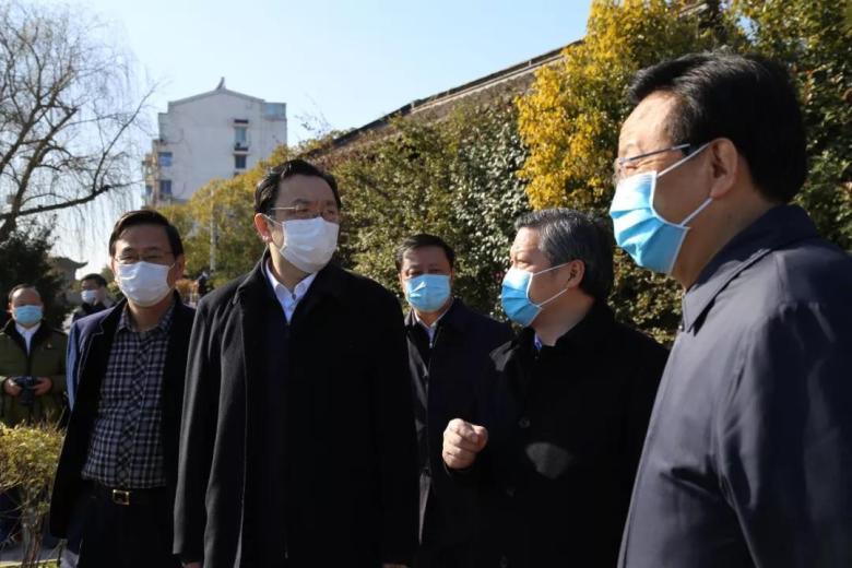 江苏省委统战部长杨岳赴扬州调研宗教场所防疫及管理工作
