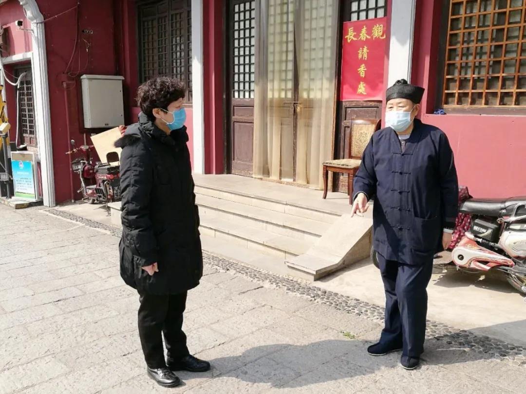湖北省委统战部副部长、省民宗委主任马萍巡查暗访宗教活动场所