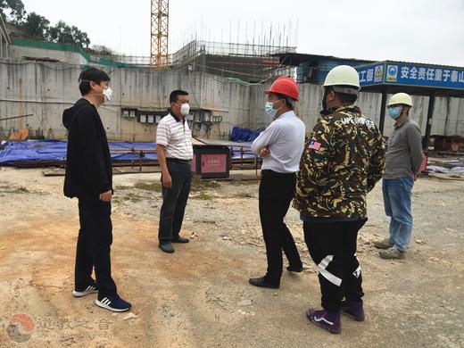 广州市道协到赤松宫进行复工安全工作检查