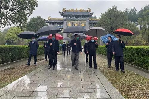 江西省鹰潭市委书记郭安调研龙虎山正一观