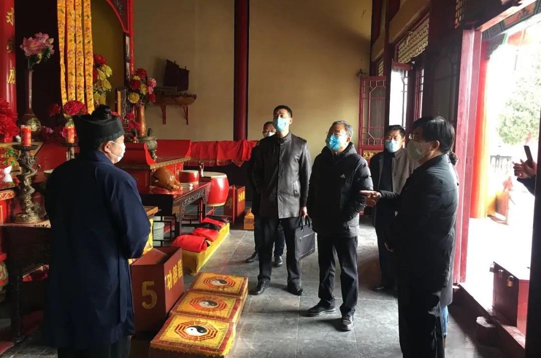 山东省济宁市全面督导宗教场所疫情防控情况