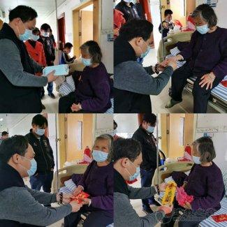 廣西道教協會副會長陳應偉道長一行疫情期間到醫院慰問住院信眾