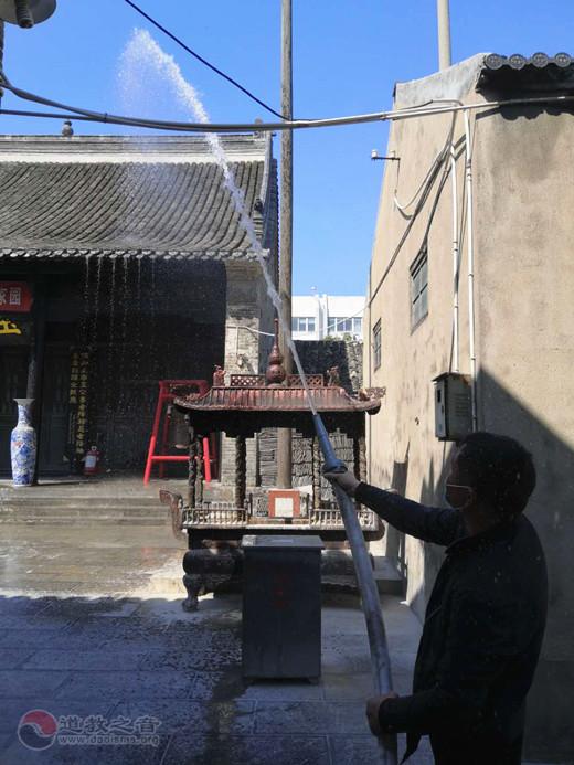 江苏省淮安市道教协会开展消防安全演练活动