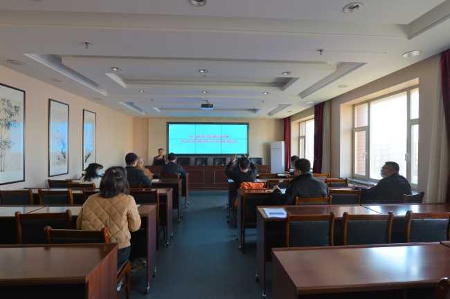 吉林省宗教团体服务中心举办NAS云存储办公培训