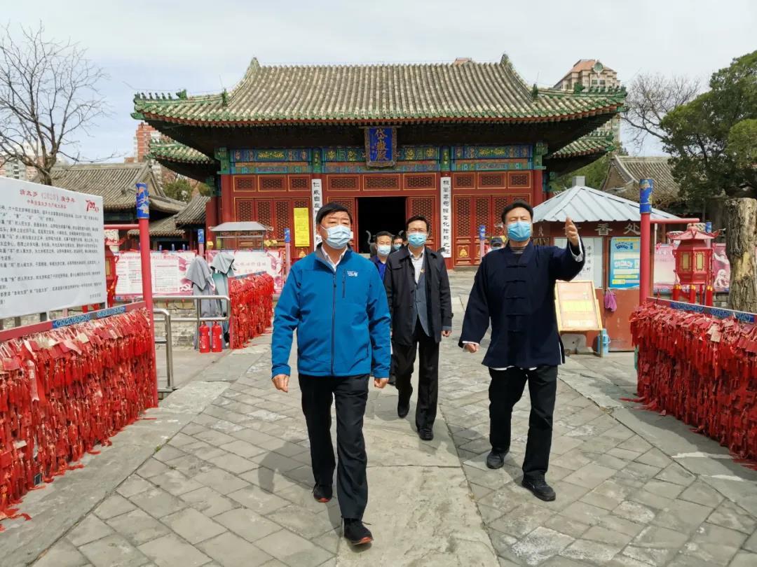 北京市民族宗教委检查宗教活动场所疫情防控