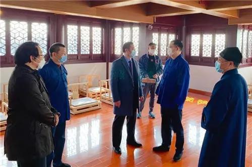 上海市民宗局副局长王凡一行赴上海道教学院