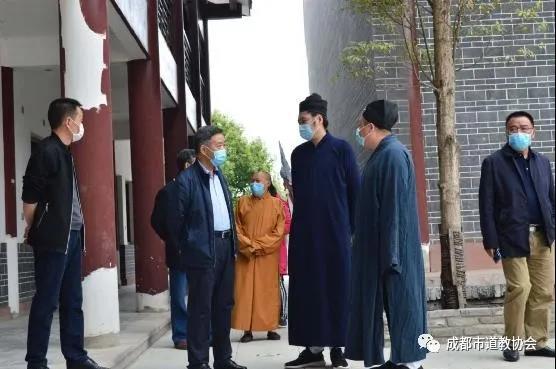 四川省成都市政协委员赴金堂县真多观调研