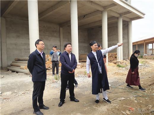 陕西省汉中市副市长邱仕伟一行调研太极观
