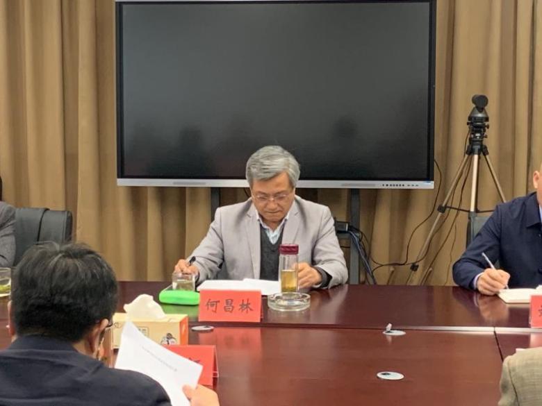 江苏省民宗委副主任何昌林调研江苏道教学院筹备设立工作