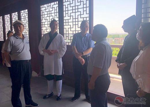 江苏省民宗委携省道协领导督查常州经开区将军观安全工作