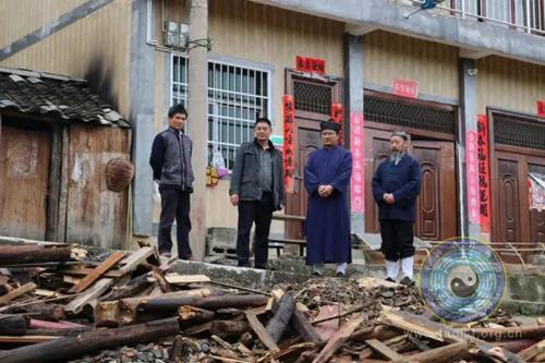 贵州省福泉山道教协会开展帮扶走访活动