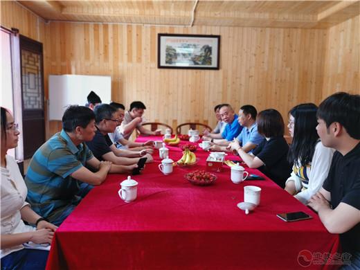 江苏省民宗委携省道协领导督查常州武进区道教活动场所安全工作