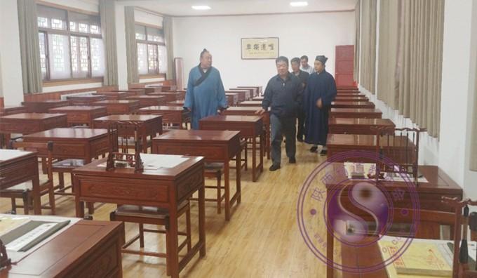 陕西省民宗委副主任杨义民到陕西省道教学院检查工作