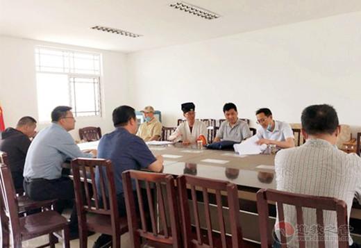 江苏省安全督导组莅临南京方山洞玄观检查督导安全与疫情防控工作
