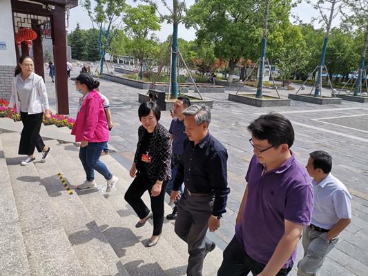江苏省民宗委副主任何昌林赴宜兴调研宗教活动场所安全工作专项整治