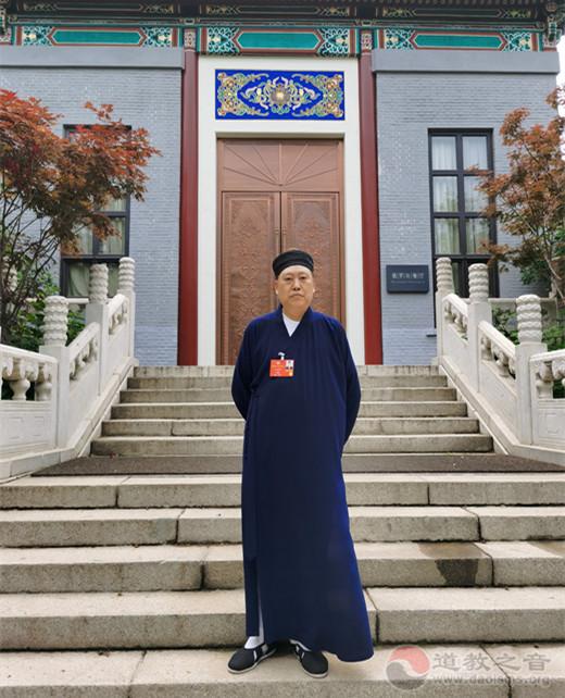 唐诚青道长:加强宫观寺庙文物保护,加大抗地质灾害、水利交通等建设