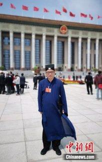 """中国道教协会副会长张金涛:顺应时代潮流才是""""道法自然"""""""