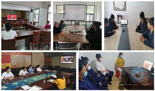 湖北省道教界認真組織道眾收聽收看2020年全國兩會開幕會