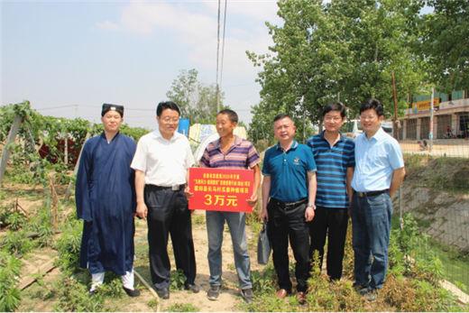 安徽省委统战部副部长陆友勤率队开展宗教慈善助残助业和六一慰问活动
