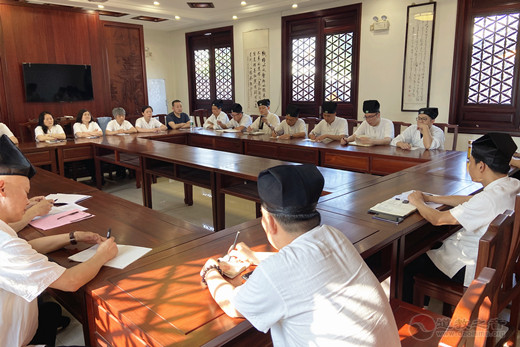 苏州城隍庙召开恢复开放工作部署会议