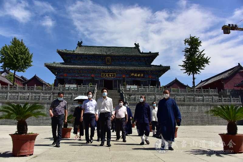 十堰市委副书记王济民赴武当山道教学院、静乐宫调研