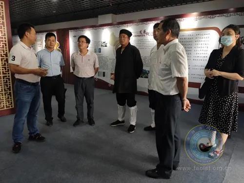 廣東省民族宗教委、省道協相關負責人赴茂名湛江珠海調研道教工作