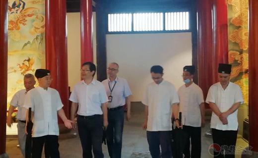 苏州市姑苏区政协主席蔡炳锋视察疫情后玄妙观开放安全管理工作