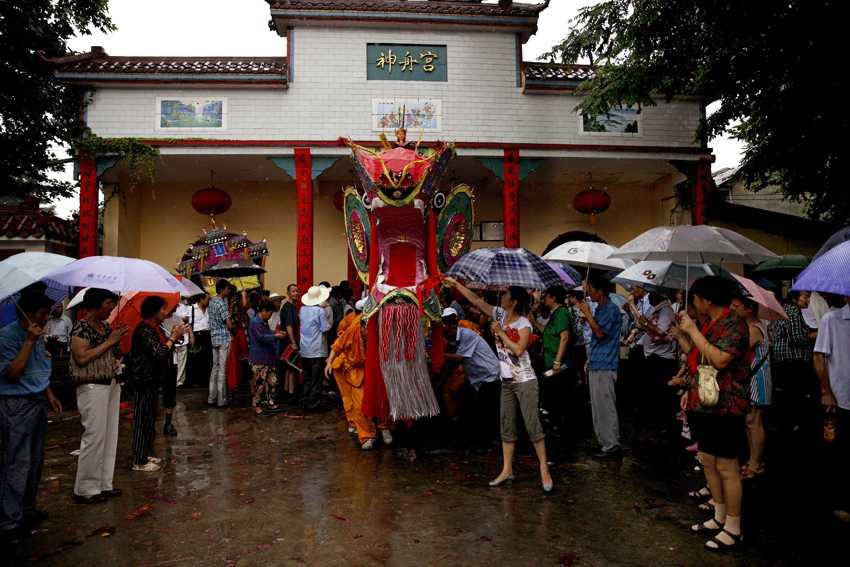 西塞神舟会——《出宫》作者:龚威,地点:西塞神舟宫,时间:2013年6月