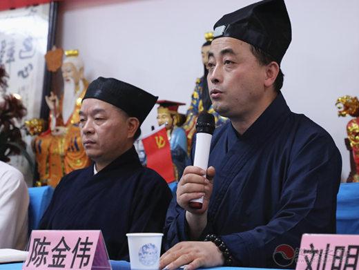 浙江省德清县道协首届经韵教务培训班开班
