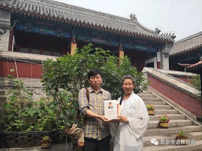 """北京市道教协会开展""""四进""""创建工作为各场所配置图书"""