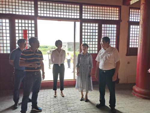 江苏省泰州市民宗局局长赴兴化开展安全生产调研宣讲活动