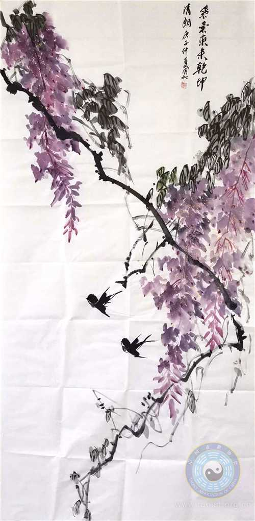 紫气东来(作者:狄闯)