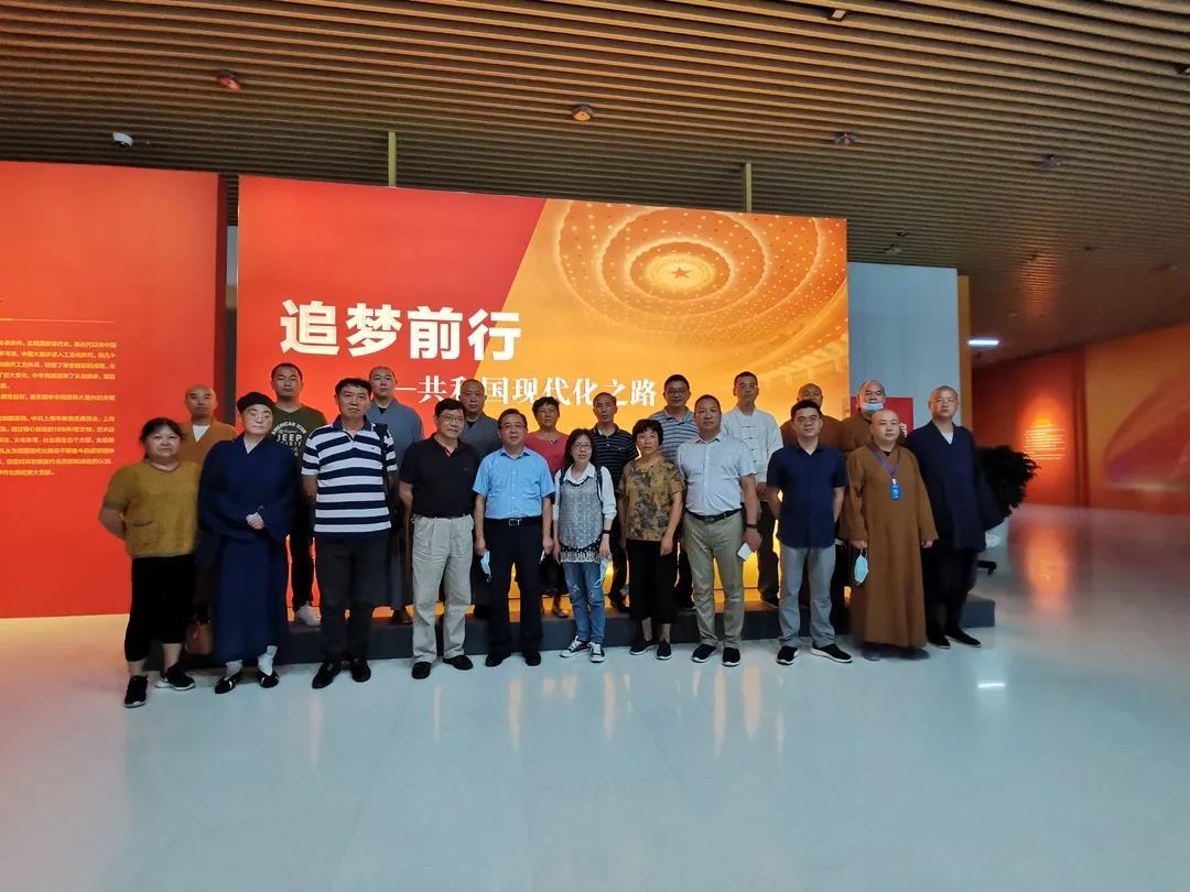 """上海市金山区组织民族宗教界代表人士开展""""四史""""学习教育"""