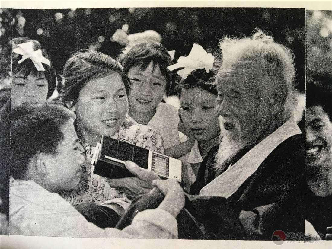 唐崇亮道长与孩子们