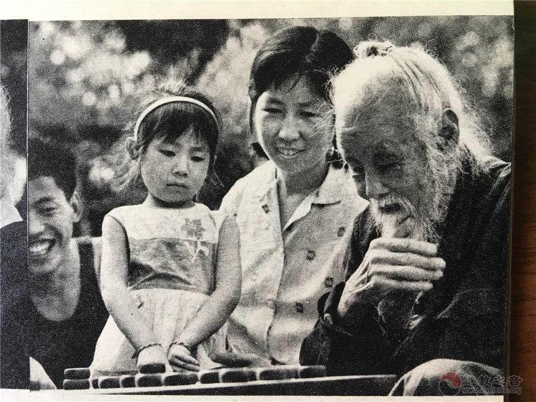昔年影像:80年代画报中的百岁道人唐崇亮(图集)