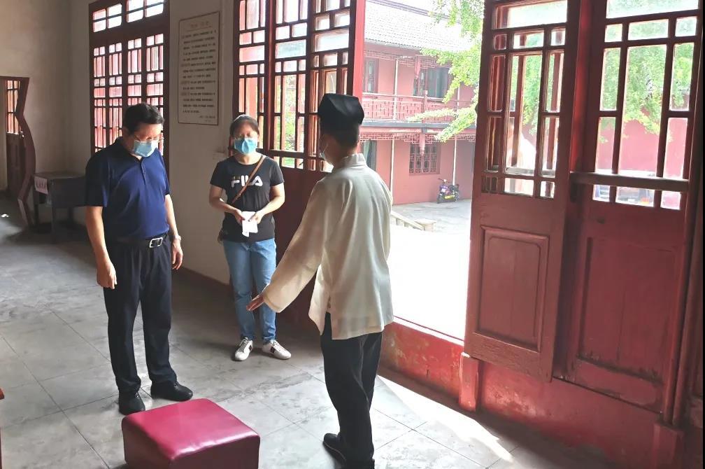 上海市奉贤区扎实推进宗教活动场所有序恢复开放