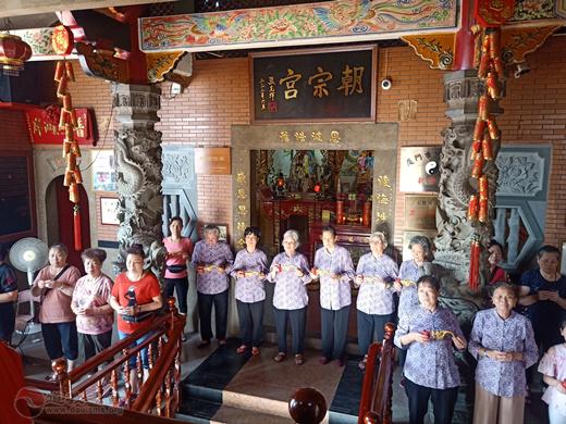 福建省厦门市朝宗宫举行重光奠基20周年纪念活动