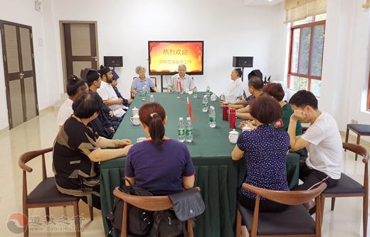 广东省普宁市七星洞道观组织开展道教文化讲座