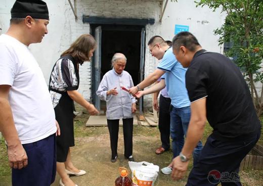 山东省临沂市道教协会开展扶危济困慈善活动