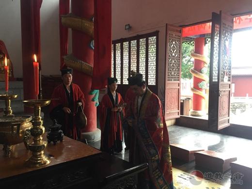 镇江市润州道院举行纪念抗战胜利75周年和平祈祷法会