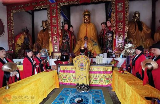 南阳市道协三贤山道观举行纪念抗战胜利75周年和平祈祷法会