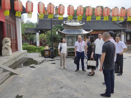 江苏省南通市委巡察组巡察城隍庙安全隐患问题整改落实情况