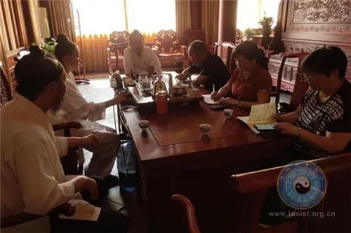 贵州省福泉市政协主席黄建菊到太极宫调研