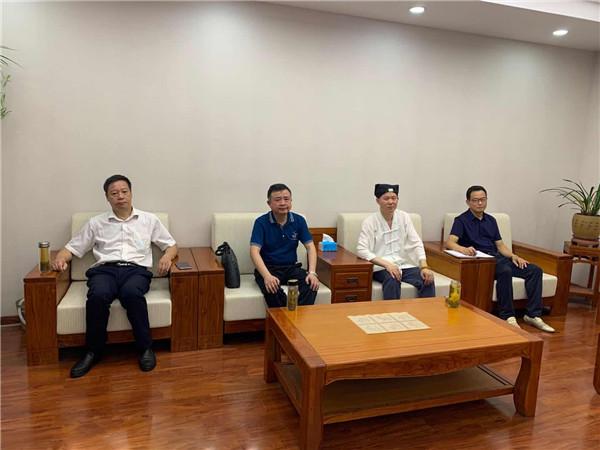 安徽省宗教局副局长韩雷到省道协走访调研