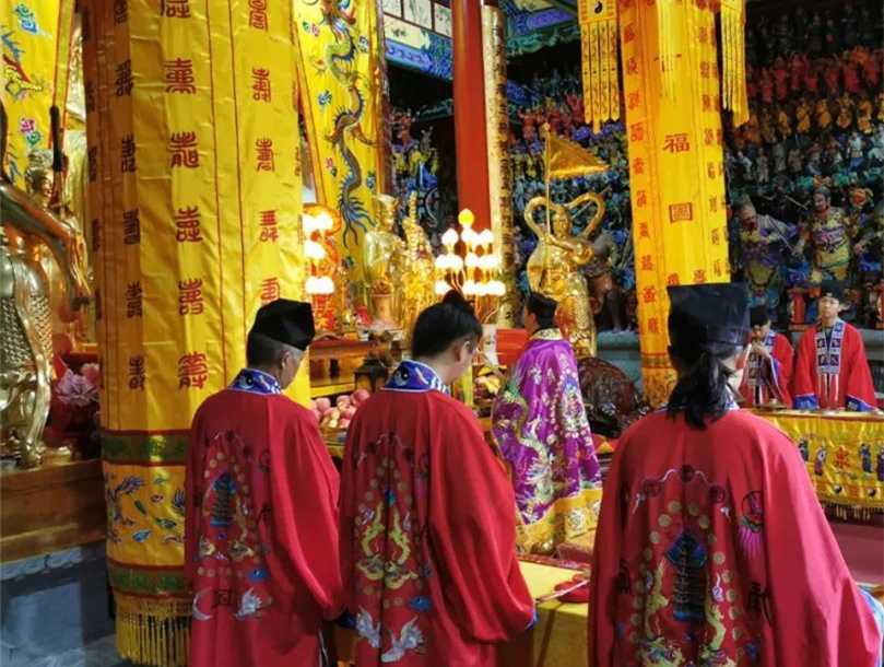 云南道教界举行纪念抗战胜利75周年和平祈祷法会