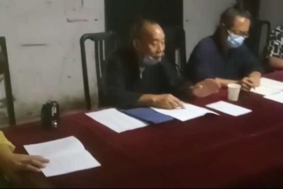 湖北省天门市道协到恢复开放场所调研工作