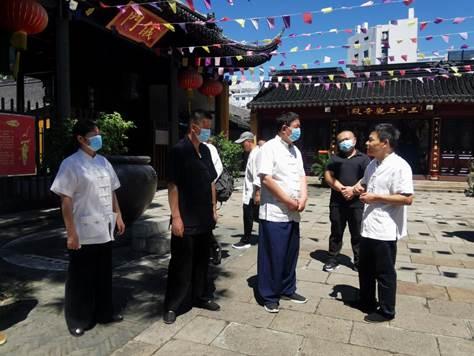 江苏省泰州市道教协会赴苏州城隍庙参访