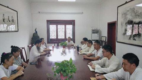 上海财神庙学习贯彻市道协勤俭节约倡议书精神