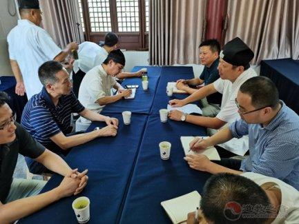 南京市民宗局、南京市道协一行赴高淳区道协调研