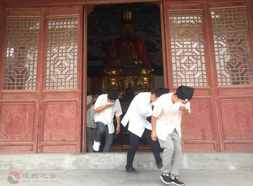镇江市润州道院开展消防疏散逃生演练活动